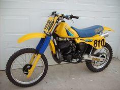 1982-  Suzuki RM500