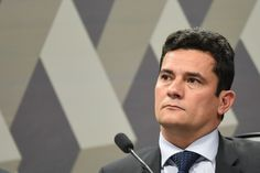 Federal Judge Sergio Moro during a session of the Committee on Constitution and Justice of the Senate that discuss changes in the Code of Criminal Procedure, in Brasilia, on September 9, 2015. Judge Moro leads Brazil's huge anti-corruption drive that investigates the cases of corruption in the state-owned oil company Petrobras. AFP PHOTO/EVARISTO SA