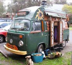 Campervan home. VW