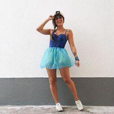Fantasia de carnaval improvisada da Carol Burgo | Inspiração de look para curtir o carnaval