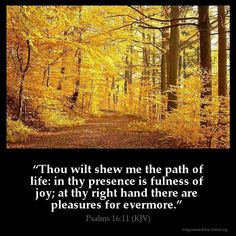 Psalm 16:11 KJV
