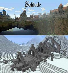 Skyrim in minecraft