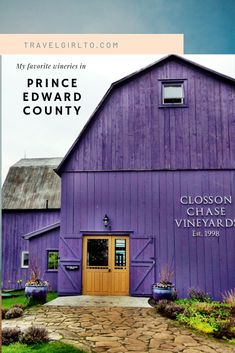 The best wineries of Prince Edward County. A tour of my favorite wines and experiences in wine country! Places To Travel, Places To Go, Travel Destinations, Ontario Travel, Usa Tumblr, Solo Travel, Travel Tips, Prince Edward Island, Worldwide Travel