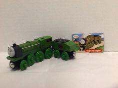Big City Engine Tender Card Thomas Compatible Wooden Railway Cargo Gullane 2003 #Gullane