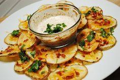 Cheesy Bacon Ranch Potato Slices