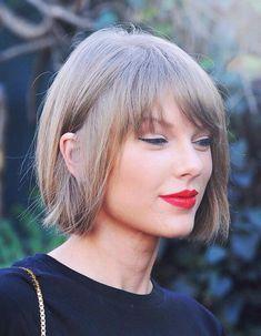 Taylor Swift Haircut, Taylor Swift Short Hair, Taylor Swift Fotos, Taylor Swift Pictures, Taylor Alison Swift, Estilo Fashion, Hairstyles With Bangs, New Hair, Ulzzang