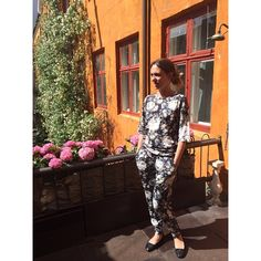 Floral prints from AW14, ELISE GUG