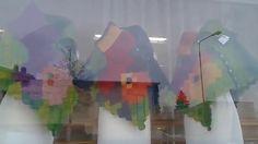 by itu - 1. näyteikkuna  - kangaskauppa Textiikki
