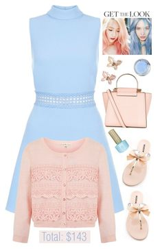 """""""Weekend Style Under $150 '"""" by dianefantasy on Polyvore featuring Uttam Boutique, Monsoon, GetTheLook, inspiration, pinkandblue and polyvoreeditorial"""