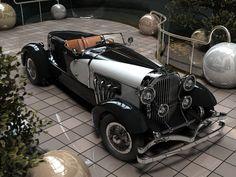 Duesenberg Speedster - legend of the world automotive industry. 1933