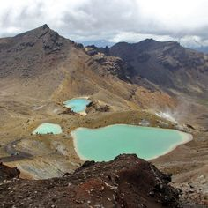 Lord of the Rings Hike!  Best Day Hike: Tongariro Alpine Crossing, Tongariro National Park, North Island