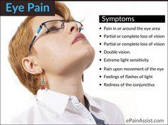 Sign and Symptoms of Eye Pain Eye Irritation Remedies, Eye Pain, Light Sensitivity, Signs And Symptoms, Eyes, Feelings, Optometry, Healthy Lifestyle