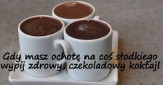 Zielone koktajle: Zmiksuj zdrowy koktajl czekoladowy bez czekolady