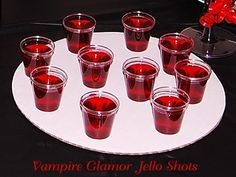 halloween jello shots | Halloween - Vampire Jello Shots | fall-halloween-thanksgiving