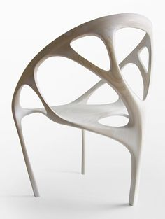 Minimalist Chair made of wood