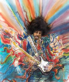 JIMI HENDRIX - I love this one!