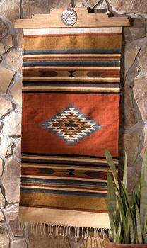 Rugs For Living Room Desert Dawn Rug use as quilt hanger