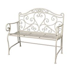 "ROMANTIC SEATING BENCH ""LILY"" 
