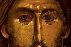 ИКОНАХристос Сведржитељ, детаљ, 60-е године XIII века, Манастир Хиландар, Света Гора