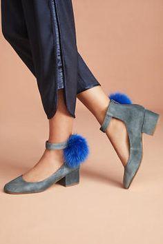 Cecelia New York 'Liv' Pommed Block Heels