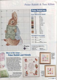 Thrilling Designing Your Own Cross Stitch Embroidery Patterns Ideas. Exhilarating Designing Your Own Cross Stitch Embroidery Patterns Ideas. Mini Cross Stitch, Cross Stitch Heart, Cross Stitch Animals, Cross Stitching, Cross Stitch Embroidery, Embroidery Patterns, Beatrix Potter, Cross Stitch Designs, Cross Stitch Patterns