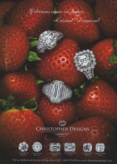 Diamonds and Strawberries - perfectly British