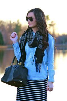 GiGi New York | For All Things Lovely Fashion Blog | Barrel Bag