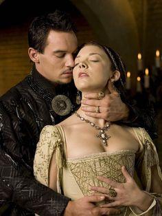 Jonathan Rhys Meyers stars as Henry VIII and Natalie Dormer stars as Anne Boleyn in The Tudors.