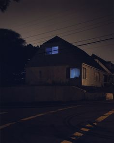 The pleasure in not knowing: #2133 by Todd Hido, published in 2001 from House Hunting