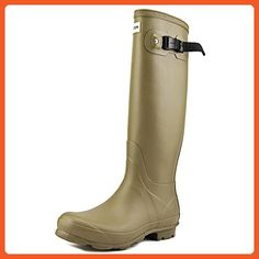 Hunter Norris Field Boot Women US 6 Gray Rain Boot - Boots for women (*Amazon Partner-Link)