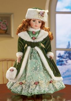 Winter Kate Collectible Porcelain Doll