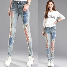 (56.00$)  Watch here  - Women Jeans Pants Womens Jeans Cotton Woman Pantalones Mujer Womans Softener Jeans Feminino Perfume 212 Feminino Feminina New