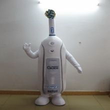Hola Advertising Professional zeichentrickfigur kostüme/zahnbürste kostüm
