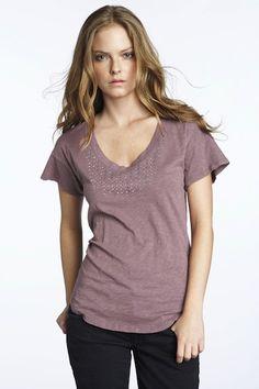 Fiorina | Quality - Lifestyle - Fun  www.shopfiorina.com  Velvet Tee  $88.00