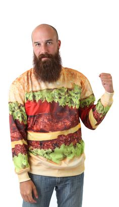 Burger Sweatshirt by Beloved Shirts