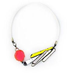 Pink and Yellow Necklace