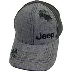 Distressed Jeep Logo Denim Jeep Hat