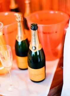 Tangerine Champagne