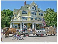 Victorian Home, Machinac Island, Michigan