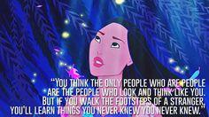 Pocahontas, Pocahontas   23 Profound Disney Quotes That Will Actually Change Your Life