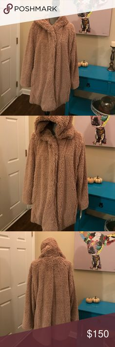 ⬇️Gap Coat!! Gap Sherpa faux fur coat with hood! Has toggle style clasps and pockets! NWT! Bought it last year thinking I would wear it but it does not get cold enough here! GAP Jackets & Coats