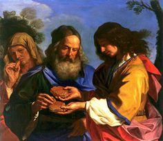 Guercino, circa 1657. Fine Arts Museum of San Francisco