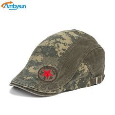 Find More Newsboy Caps Information about Fashion Mens Beret Caps Star Embroidery Hats Flat Cap Ivy Gatsby Newsboy Hunting Hat Vintage Acid Washed Camouflage Boina Hat,High Quality hat crochet,China hat world hats Suppliers, Cheap hat brim from Shenzhen BYS Technology Co., Ltd on Aliexpress.com