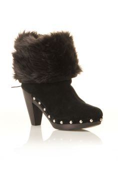 furry boots.