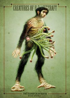 The Dunwich Horror - Wilbur Whateley Hp Lovecraft, Lovecraft Cthulhu, The Dunwich Horror, Call Of Cthulhu Rpg, Lovecraftian Horror, Creepy Pictures, Horror Art, Monster, Fantasy Creatures