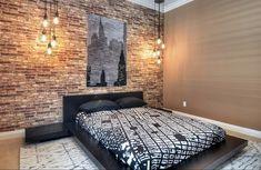Tuscany Brick In Bedroom