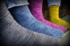 Ravelry: Riff socks pattern by Lise Brackbill