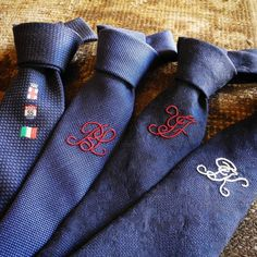 . Eral55's original ties produced by @francobassibespoke Also with your initials. .  #bassiworld #milan #italy #japan #fashion #vintage #military #suit #used #shop #street #sartoria #tailor #bespoke #handmade #menswear #shopping #style #photooftheday #swag #eral55 #eralcinquantacinque #sartorialazzarin #instagood #outfit #イタリア #ミラノ #セレクトショップ #ビンテージ #古着