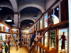 Rob Gonsalves Paintings Wallpapers