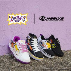 Rugrats X Heelys collection out now 🍼 Adult and kid sizes available #RugratsXHeelys 10m Shoe Releases, Rugrats, Vans, Sneakers, Kid, Collection, Shoes, Style, Fashion